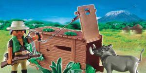 Playmobil, kłusownik z pułapką