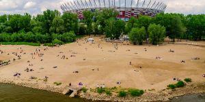plaża Warszawa kąpiel
