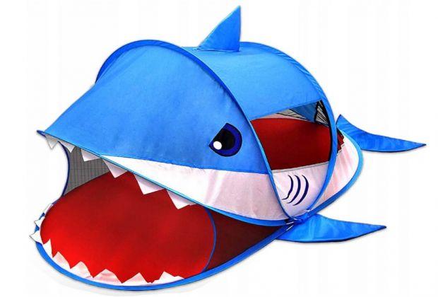 namiot rekin dla dzieci