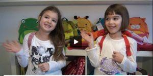 plecak dla przedszkolaka, dziewczynki, bliźniaczki