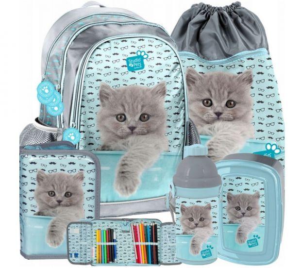 plecaki szkolne plecak z wyposażeniem