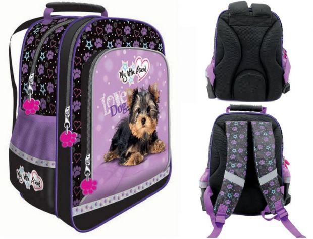 plecaki szkolne plecak dla dziewczynki z yorkiem