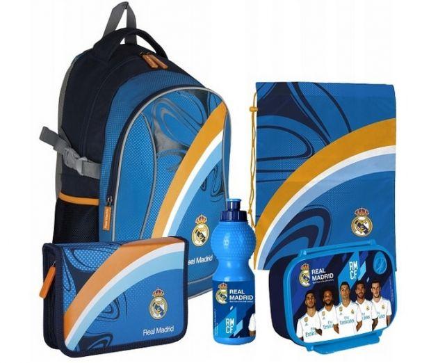plecaki szkolne zestaw real madryd
