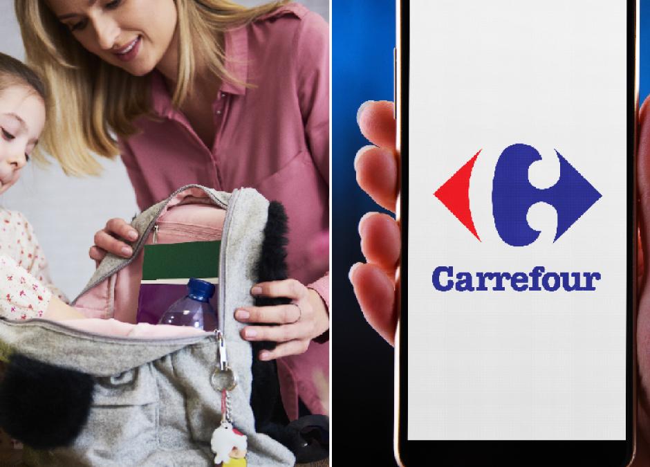 Plecaki w sklepach Carrefour promocja