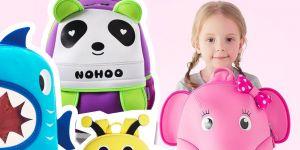 plecaki zwierzaki Nohoo dla przedszkolaka - najfajniejsze