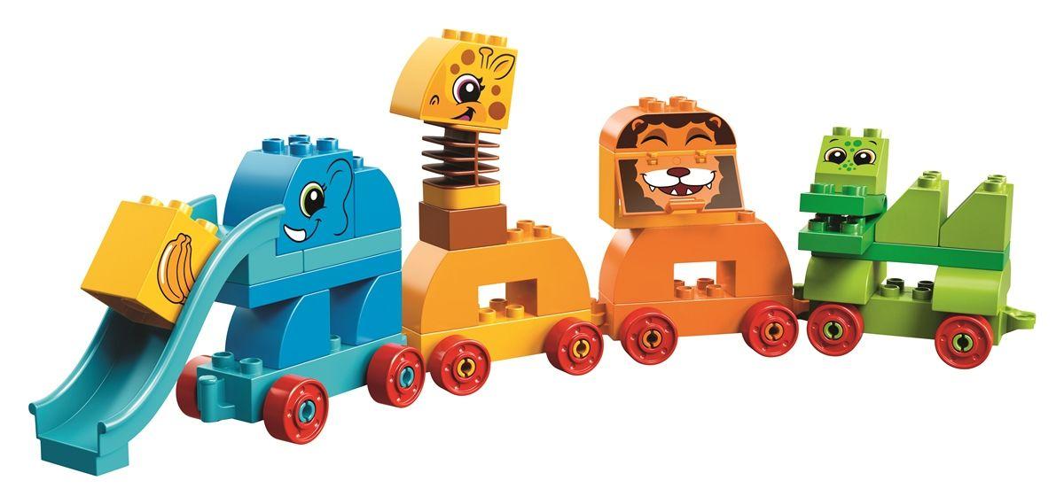klocki Lego Duplo Pociąg ze zwierzątkami