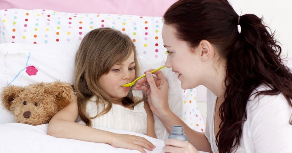 Podanie syropu nie jest roziązaniem, gdy dziecko ma kaszel przewlekły