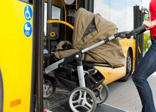 podróż z dzieckiem autobusem