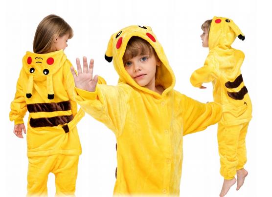 Piżama jednoczęściowa dla dziecka Pokemon