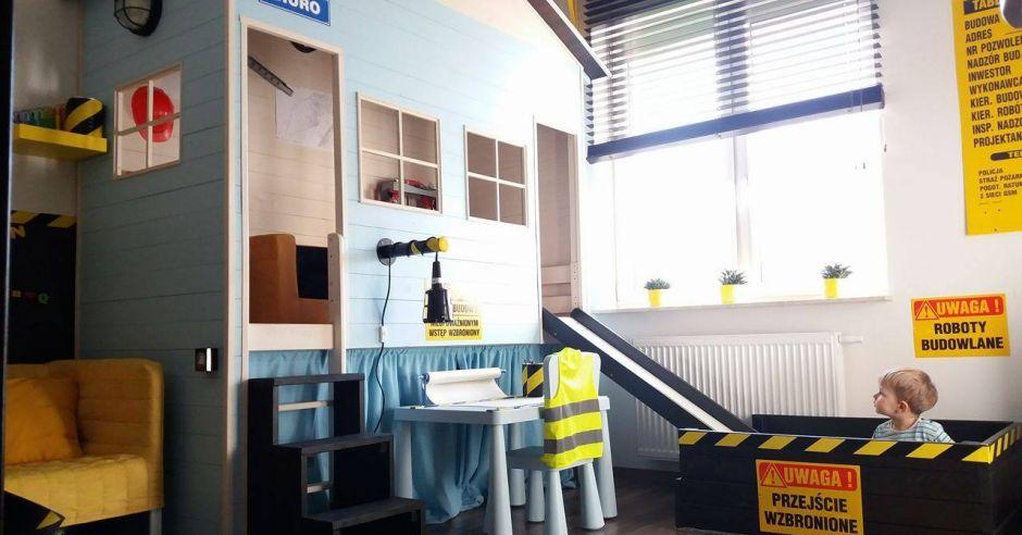 Pokój dla chłopca - plac budowy
