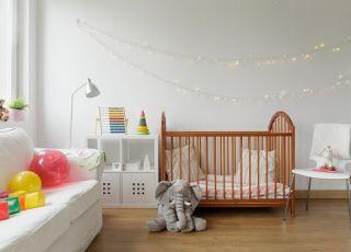 pokój dla dziecka, pokój niemowlaka, wystrój wnętrza