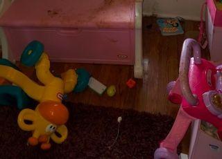 Pokój dziecka na zabawnych zdjęciach