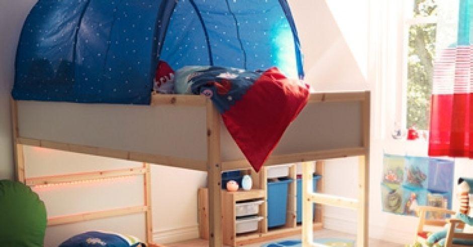 pokój dziecka, pokój dla dziecka, łóżko dziecięce