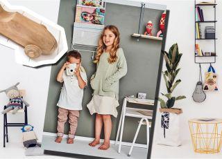 Pokój dla dziecka: bez tęczowych kolorów i z drucianymi meblami? Tak!