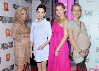 polskie gwiazdy w ciąży
