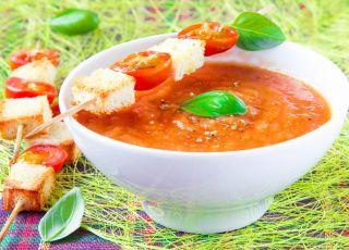pomidor, bakłażan, zupa