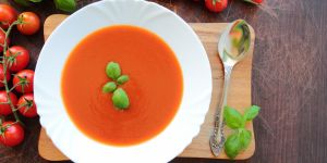 pomidorowa, krem z pomidorów