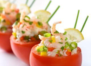 pomidory, pomidory nadziewane, przepis na pomidory