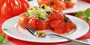Pomidory z farszem