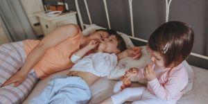 poranek mama i dzieci