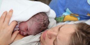 poród, noworodek, rodząca kobieta, szpital