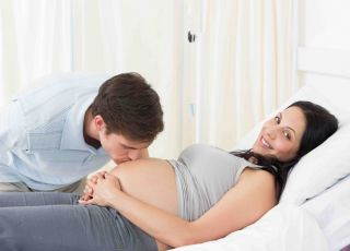 poród z partnerem, poród rodzinny, facet na porodówce