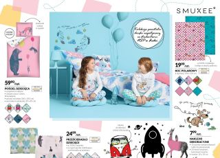 Pościel i piżamy dla dzieci z Biedronki