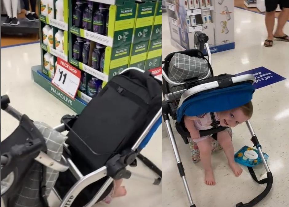 Poszła z dzieckiem na zakupy. Pokazała na TikToku co się stało, gdy na chwilę się odwróciła