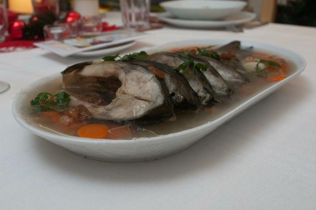 Potrawa wigilijna: ryba w galarecie