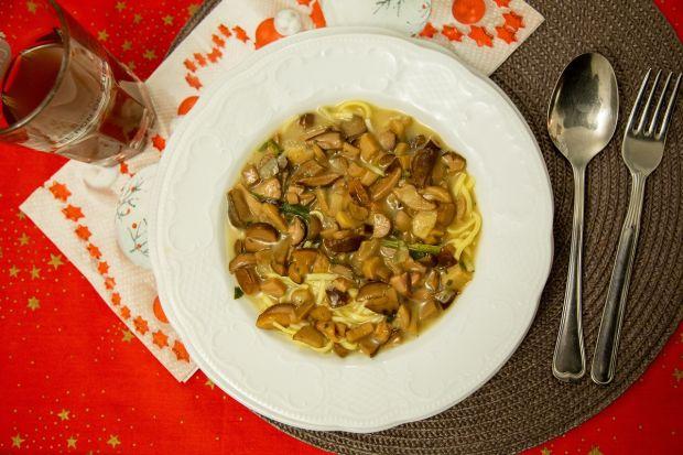 Potrawa wigilijna: zupa grzybowa