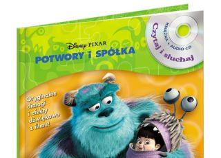 Potwory i spółka, bajka dla dzieci, płyta dla dzieci, książka dla dzieci