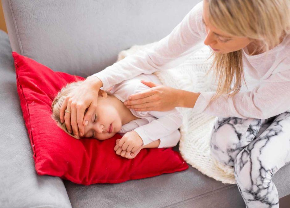powikłania po grypie u dzieci