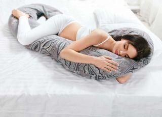 Pozycja do snu w ciąży