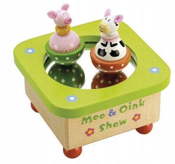 pozytywka dla dzieci drewniana zabawka