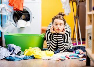 pranie i sprzątanie przy wszawicy