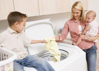 pranie niemowlęcych ubranek