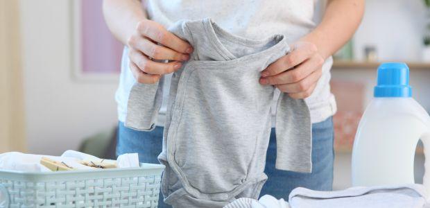 Pranie wyprawki niemowlęcia