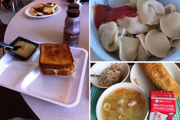 Prawdziwe obiady ze szkolnych stołówek świata
