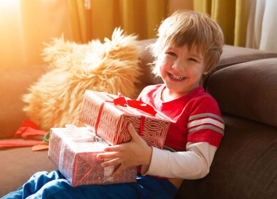 prezent dla 4-latka