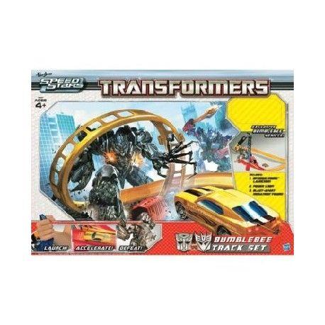 Prezent dla czterolatka, który kocha auta -  Elektroniczny tor wyścigowy BumbleBee, Hasbro Transformers