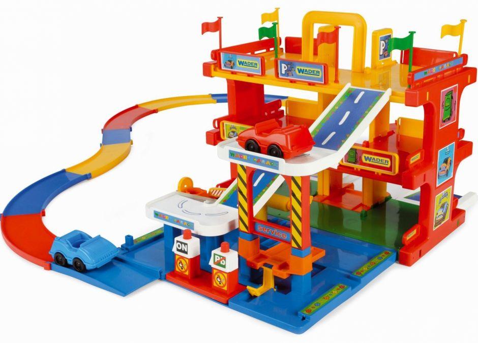 Prezent dla czterolatka, który kocha auta -  Garaż Wader