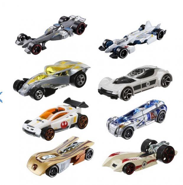 Prezent dla czterolatka, który kocha auta -  Hot Wheels Star Wars