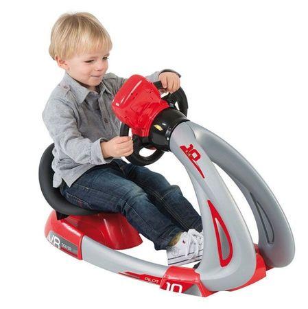 Prezent dla czterolatka, który kocha auta -  symulator Smoby