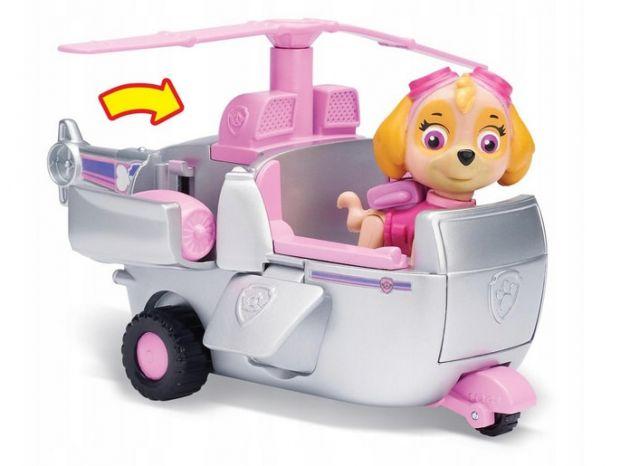 prezent dla dziewczynki psi patrol