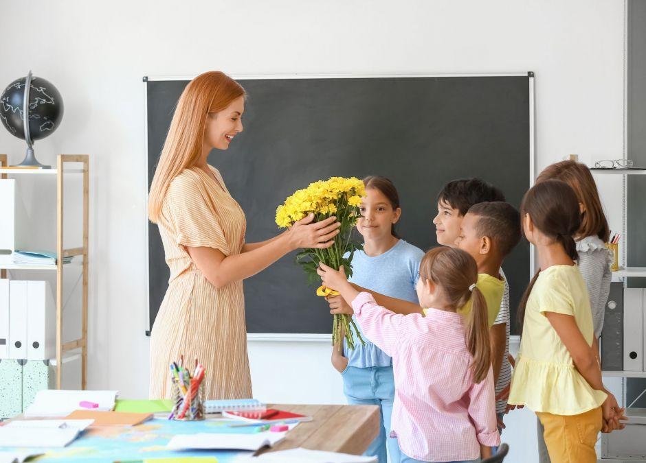 prezent dla nauczyciela