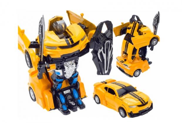 prezent dla pięciolatka transformers