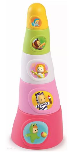 prezent dla rocznej dziewczynki wieża z klocków