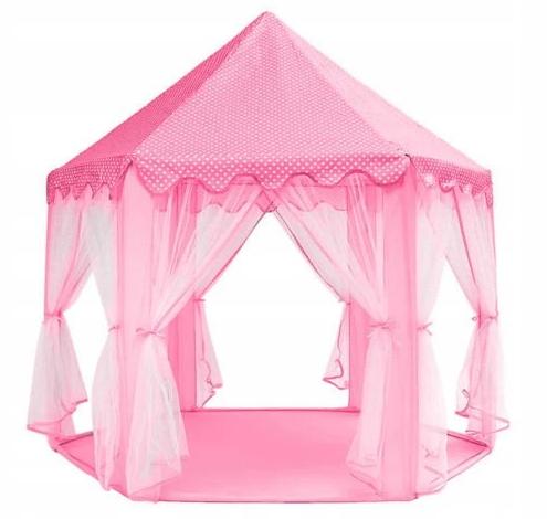 prezent dla rocznej dziewczynki różowy namiot