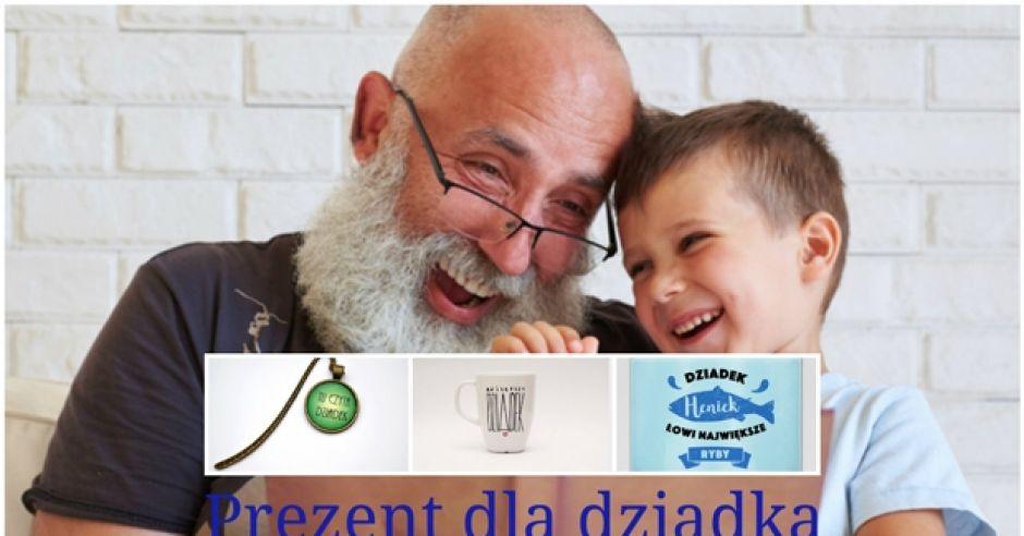 prezent na Dzień Dziadka