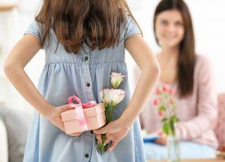 prezent na dzień matki własnoręcznie robiony